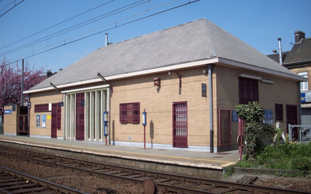 Réouverture de la gare d'Herseaux